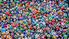 Craft Glass Beads. Glass beads designed for crafts Stock Image