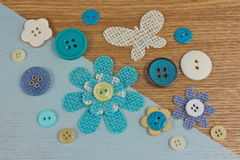 Craft Haberdashery background Stock Images