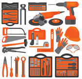 Craft icons � Hand tools (Set 1) Royalty Free Stock Images