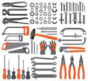 Craft icons � Hand tools (Set 4) Stock Image