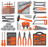 Craft icons – Hand tools (Set 5) Stock Photos