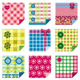 Craft icons. Textile design and buttons Stock Photography
