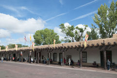 Craft market in the creative city of Santa Fe New Mexico USA Royalty Free Stock Image