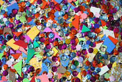 Craft material colorful background Stock Photo