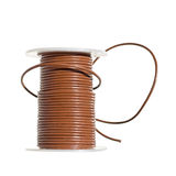 Craft materials - leather cord Stock Photo