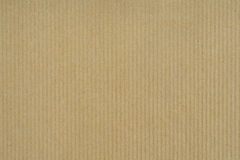 Craft Paper background with vertical stripes. Craft paper texture vertical stripes for background royalty free stock image