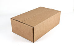Craft paper box Royalty Free Stock Image