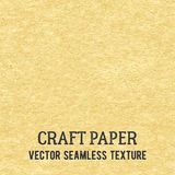 Craft paper seamless vector texture Royalty Free Stock Image