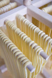Craft pastas Royalty Free Stock Image
