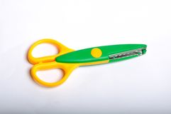 Craft Scissors Royalty Free Stock Photography