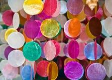 Craft shells hang Stock Images