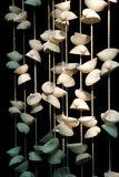 Craft shells hang Stock Photos