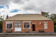 Craft shop in Richmond Tasmania, Australia stock images