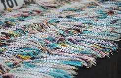 Craft show name bracelets Royalty Free Stock Image
