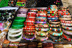 Craft souvenirs in one of Hoi An Stock Photo