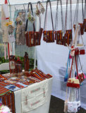 Craft stall in Funchal, Madeira, Portugal Royalty Free Stock Image
