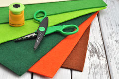 Craft Supplies Royalty Free Stock Photo