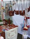 Craft a tenda em Funchal, Madeira, Portugal Imagem de Stock Royalty Free