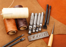 Craft tool for leather Royalty Free Stock Images