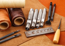 Craft tool for leather Stock Photography