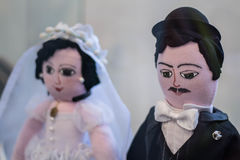 Craft wedding dolls Royalty Free Stock Photo