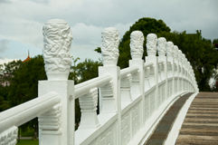 Crafted Railing Stock Image