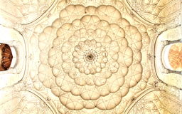 Crafted roof of Saftdarjungs Tomb, New Delhi Royalty Free Stock Photography