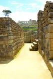 Crafted stonework at Machu Picchu, Peru Stock Photos