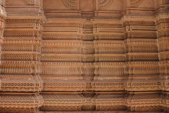 Crafted walls - India. Wooden door crafting has a big market in India with traditional door handle and pullers it looks royal. the traditional crafted walls stock photo