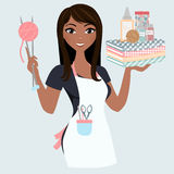Crafter woman Royalty Free Stock Photo