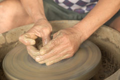 Crafting clay Stock Images