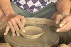 Crafting clay Royalty Free Stock Images