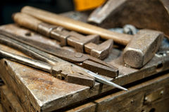 Crafting Tools Royalty Free Stock Images