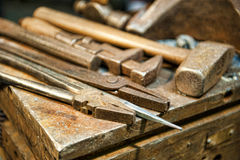 Crafting Tools Stock Image