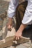 Craftman hands stock images
