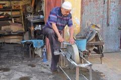 craftmanship knifes Μαρόκο Στοκ Εικόνα