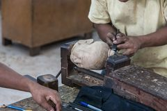 Crafts of Cambodia Royalty Free Stock Photo