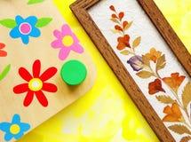 crafts flower hobby Στοκ εικόνα με δικαίωμα ελεύθερης χρήσης