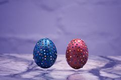 Crafts Hobbies Easter holidays objects orange decorative . Crafts Hobbies Easter holidays objects orange decorative Stock Photos