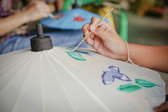 Crafts with intent. Arts and crafts in Thailand Royalty Free Stock Image