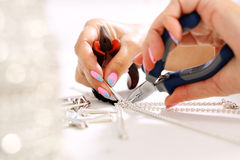 Crafts, jewelry Stock Images