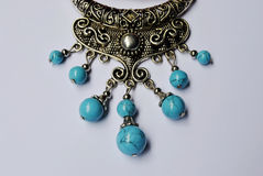 Crafts ornaments beads ornaments minorities Royalty Free Stock Images
