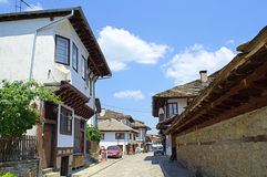 Crafts street in Tryavna town,Bulgaria Royalty Free Stock Images