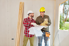 Craftsman and artisan planning Stock Photography