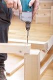 Craftsman At Work Royalty Free Stock Images