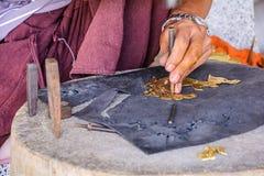 Craftsman brass Royalty Free Stock Image