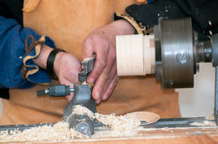 Carpenter craftsman Royalty Free Stock Images