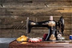 Craftsman. Seamstress closeup human clothing thailand street Stock Images