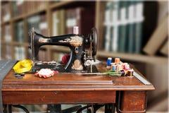 Craftsman. Seamstress closeup human clothing thailand street Royalty Free Stock Image