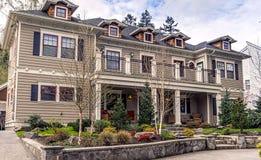 Craftsman home Royalty Free Stock Photos